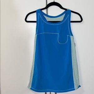 Blue and turquoise Lululemon tank top size 8